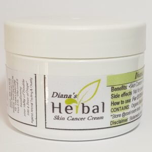 Diana's Herbal Skin Cancer Cream