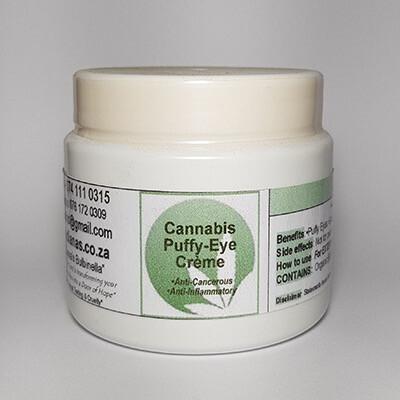 Diana's Cannabis Puffy-eye Creme