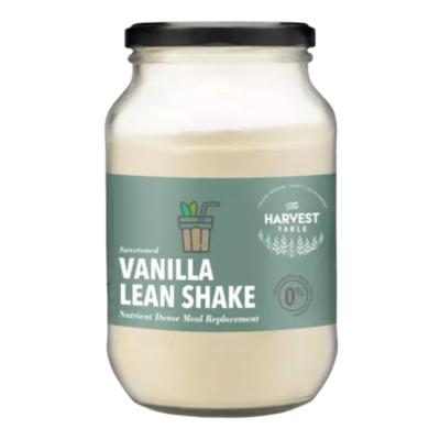 Vanilla lean shake