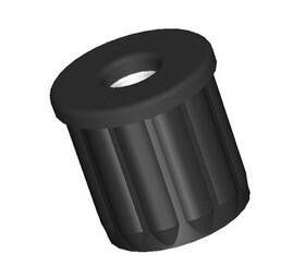 Втулка упорная для мебельной трубы 25 мм с внутренней резьбой 8 мм