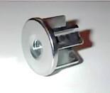 Втулка распорная сегментная с внутренним диаметром 8 мм для мебельной трубы 25 мм