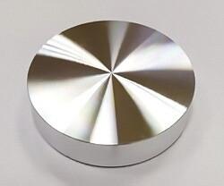 Опора алюминиевая (пятак) для УФО склейки стекла с наружным диаметром 33 мм и резьбой М8 (без проточки)