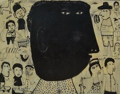 Indra Dodi - Black Face (2014)