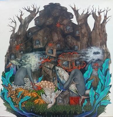 Widodo Kabutdo - ISLAND QUARANTINE (2020)