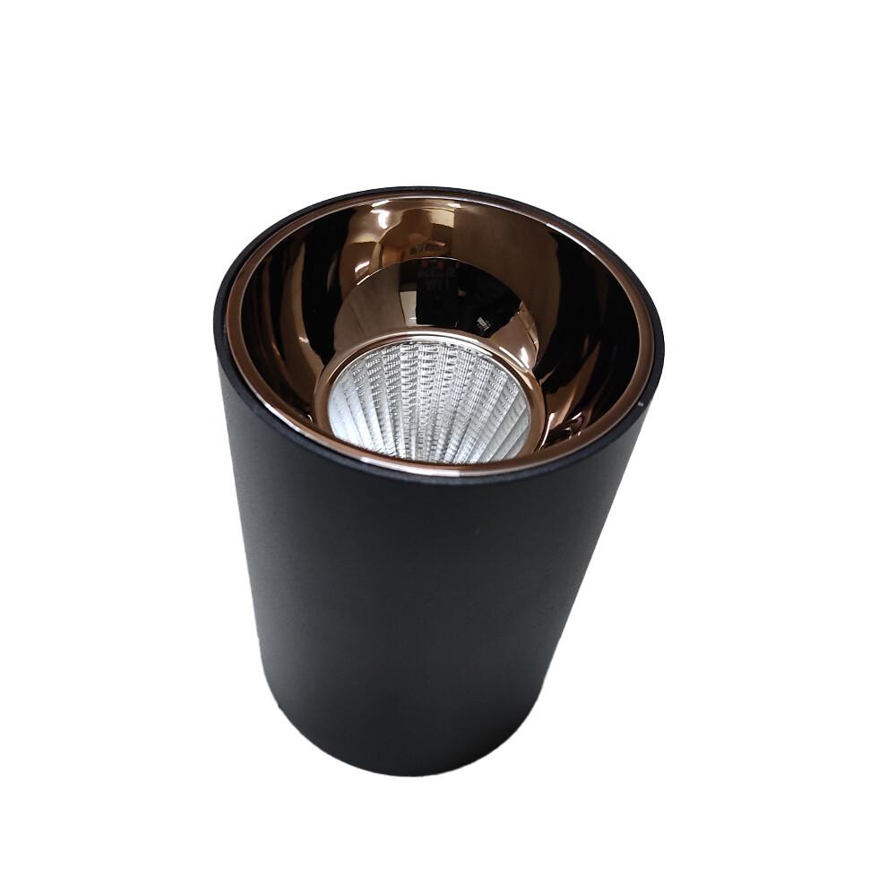 Light concepts COB reflector variant light black Gun metal