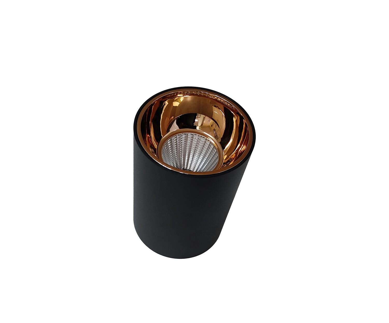 Light concepts COB reflector variant light black Rose Gold