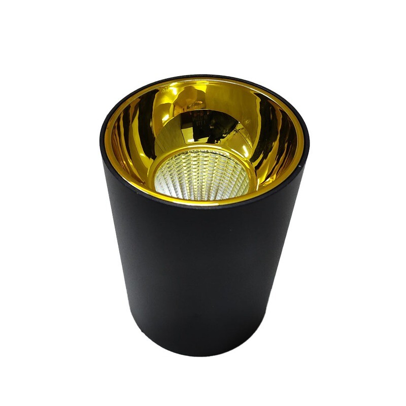 Light concepts COB reflector variant light black champagne gold
