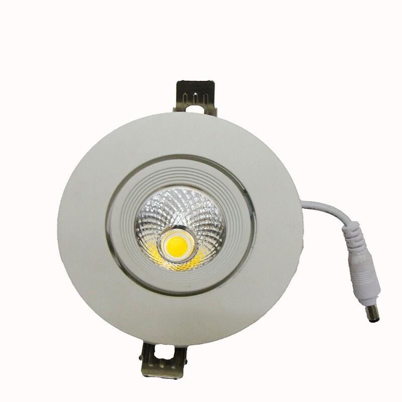 Light concepts COB zoom downlight LED light
