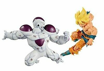 Son Goku + Freeza Figurines DBZ Match Makers