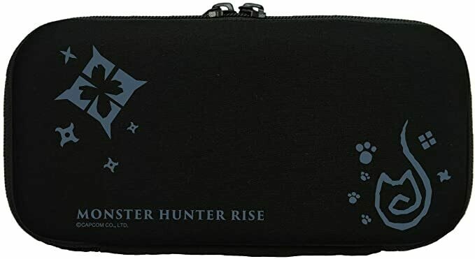 Monster Hunter Rise Pouch for Nintendo Switch Lite