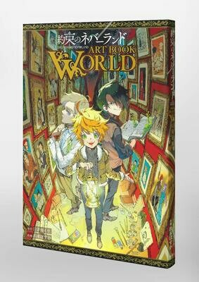 The Promised Neverland ART BOOK WORLD
