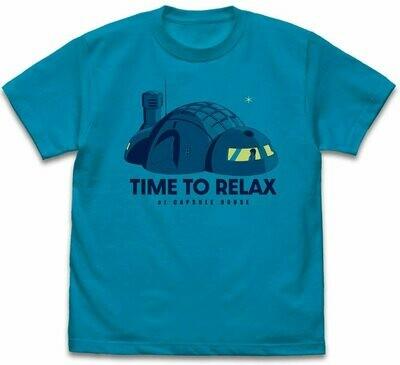 T-Shirt Dragon Ball Capsule House Blue