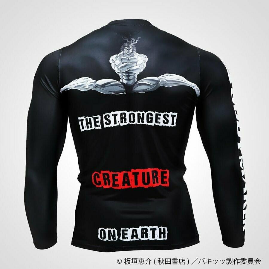 Yujiro Hanma Baki Long Sleeve T-Shirt