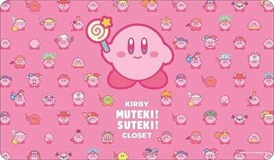 Kirby Character Rubber Mat (D)