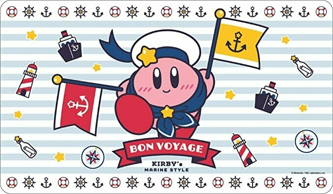 Kirby Character Rubber Mat (B)