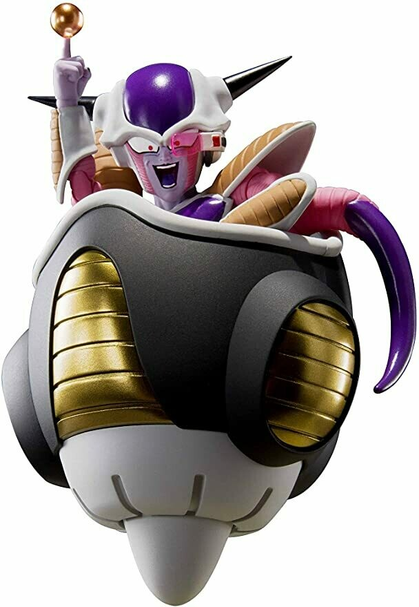 Frieza First Form & Frieza's Hover Pod S.H.Figuarts