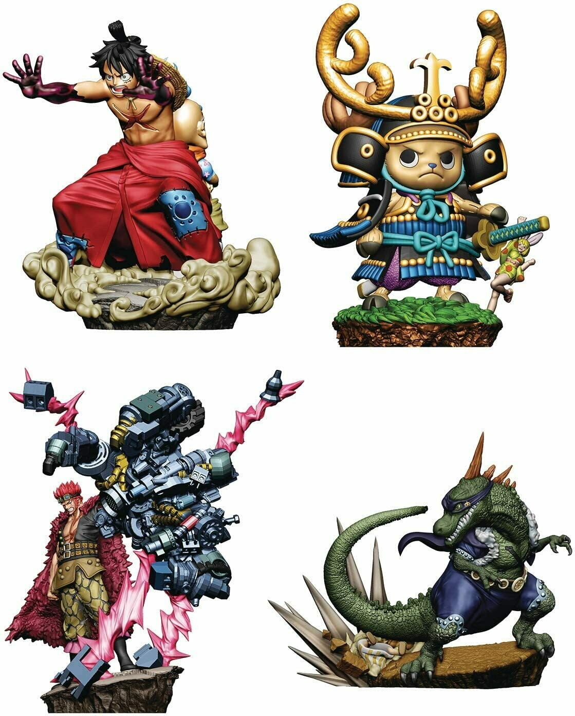 Wano Country Part.2 4Pack BOX LOGBOX RE BIRTH