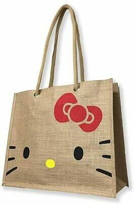 Hello Kitty Jute My Bag