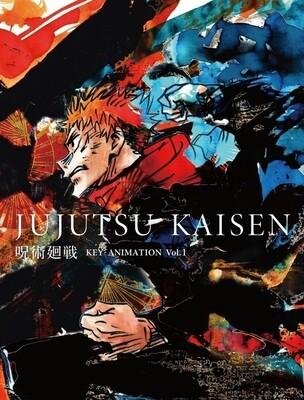 Jujutsu Kaisen KEY ANIMATION Vol.1 TSUTAYA Limited Set (with 2 Clear Files)