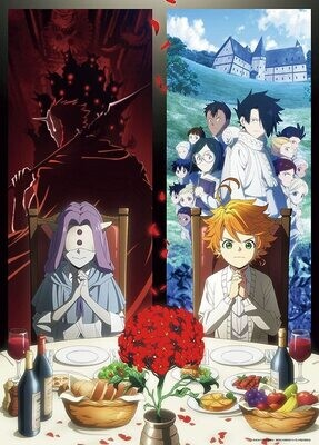 Jigsaw Puzzle The Promised Neverland 2nd Part Key Visual 600PCS