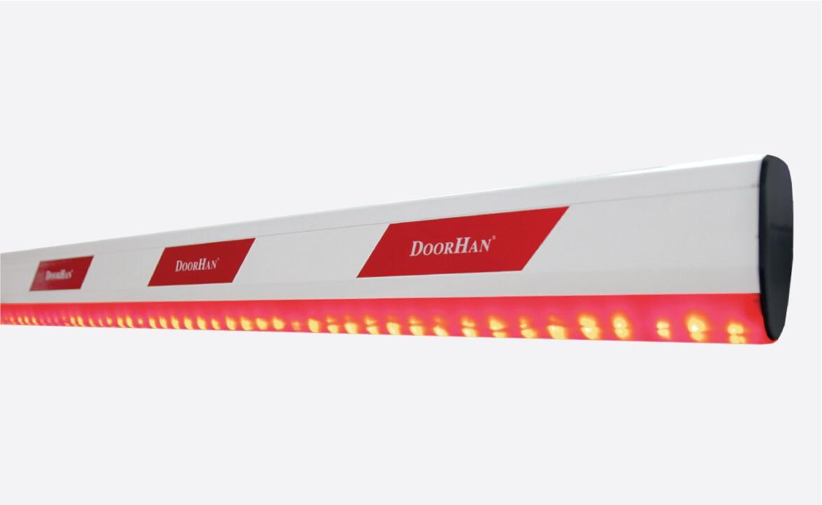 Стрела для шлагбаума DoorHan с подсветкой (5 метра)