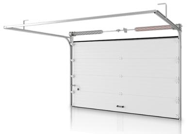 Ворота DoorHan серии RSD02 стандартные 2500х2500 (Коричневые RAL 8017)