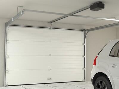 Ворота DoorHan серии RSD02 стандартные 2500х2500 с автоматикой