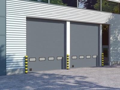 Промышленные секционные ворота DoorHan серии ISD01