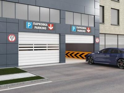 Скоростные ворота DoorHan ISD01-Parking