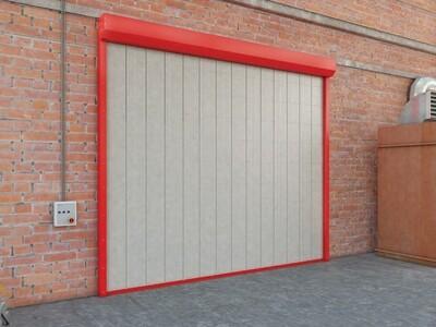 Противопожарные шторы и ворота DoorHan