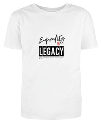 Classic Equality is Legacy t-shirt in white