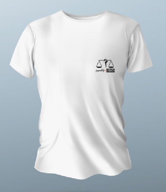 Equality scales t-shirt in white