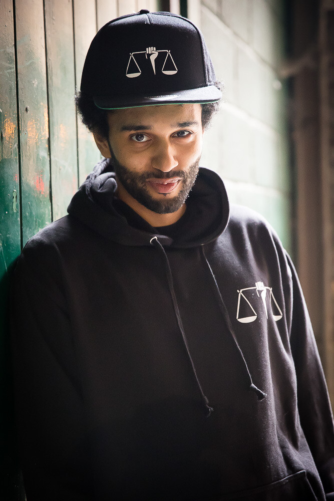 Classic Equality is Legacy hoodie in black
