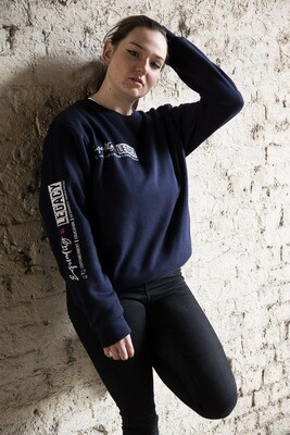 Equality scales sweatshirt in navy