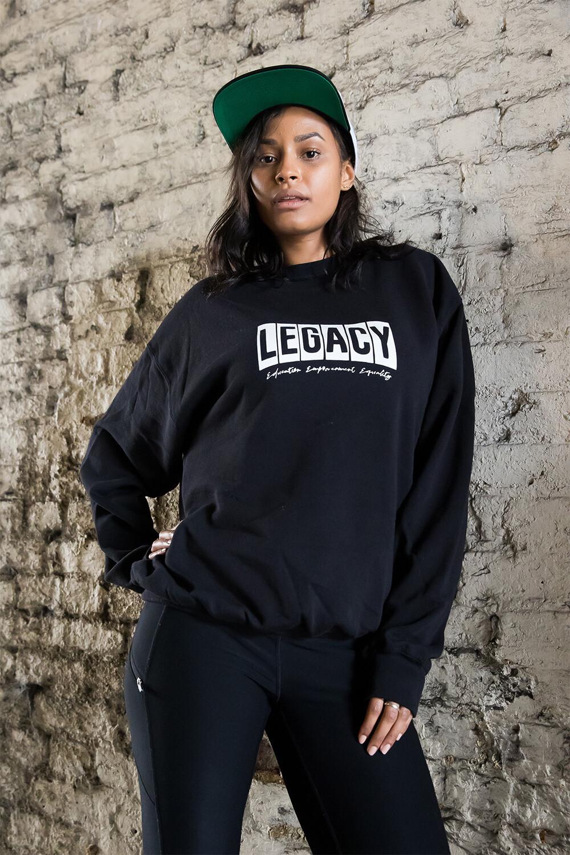 Legacy sweatshirt in black