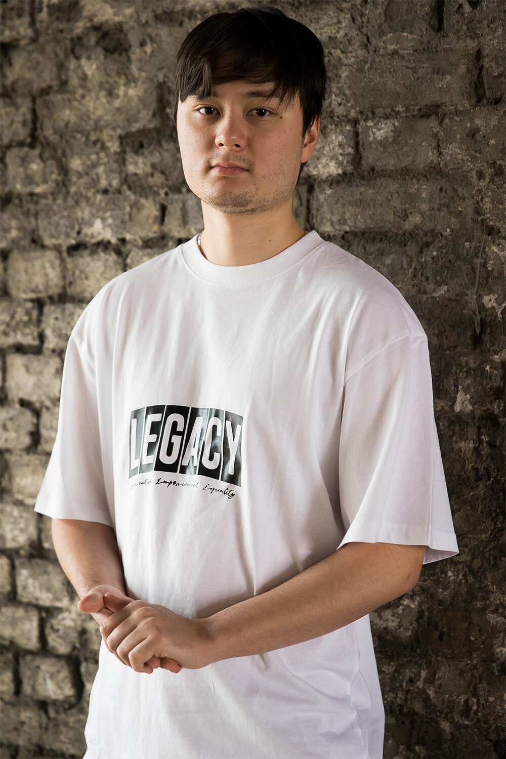 Oversized legacy t-shirt in white