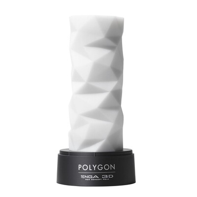 Tenga - Manicotto per masturbatore 3D Poligon