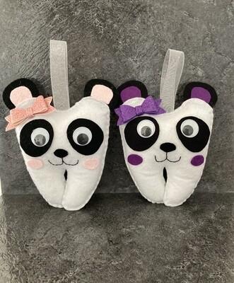 Girl Panda Tooth Pillow
