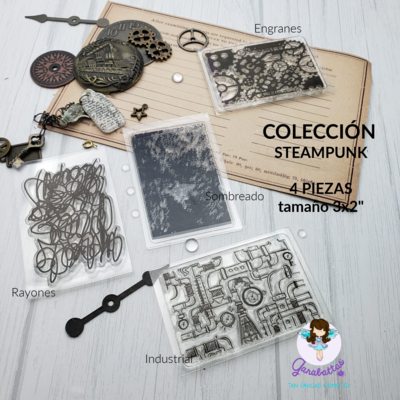 "2x3"" Stamp - Steampunk Collection"