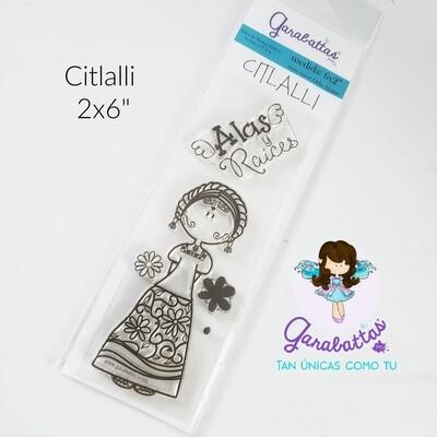 "2x6"" Stamp - Garabatta Citlalli"