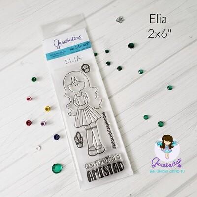 "2x6"" Stamp - Elia"