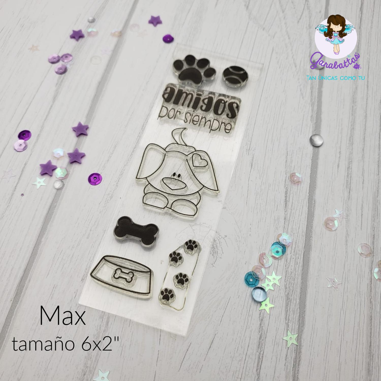 "2x6"" Stamp - Max"