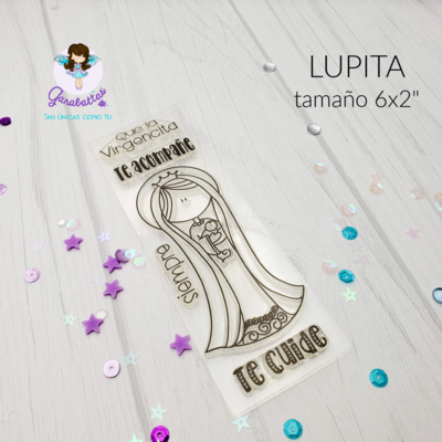 "2x6"" Stamp - Lupita"