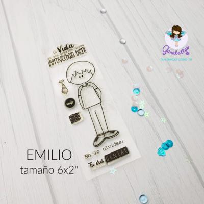 """2x6"""" Stamp - Emilio"""