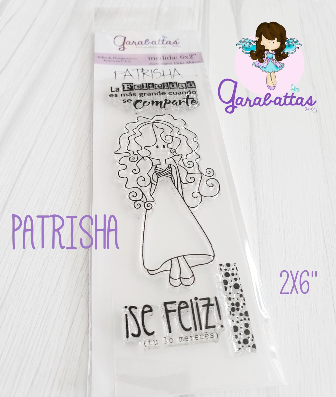 """2x6"""" Stamp - Patrisha"""