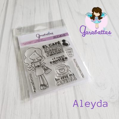 "4x4"" Stamp - Aleyda"