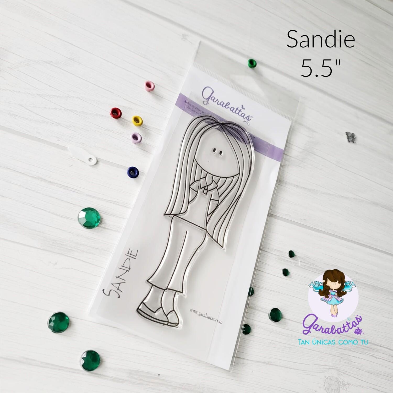 """5.5"""" Stamp - Sandie"""