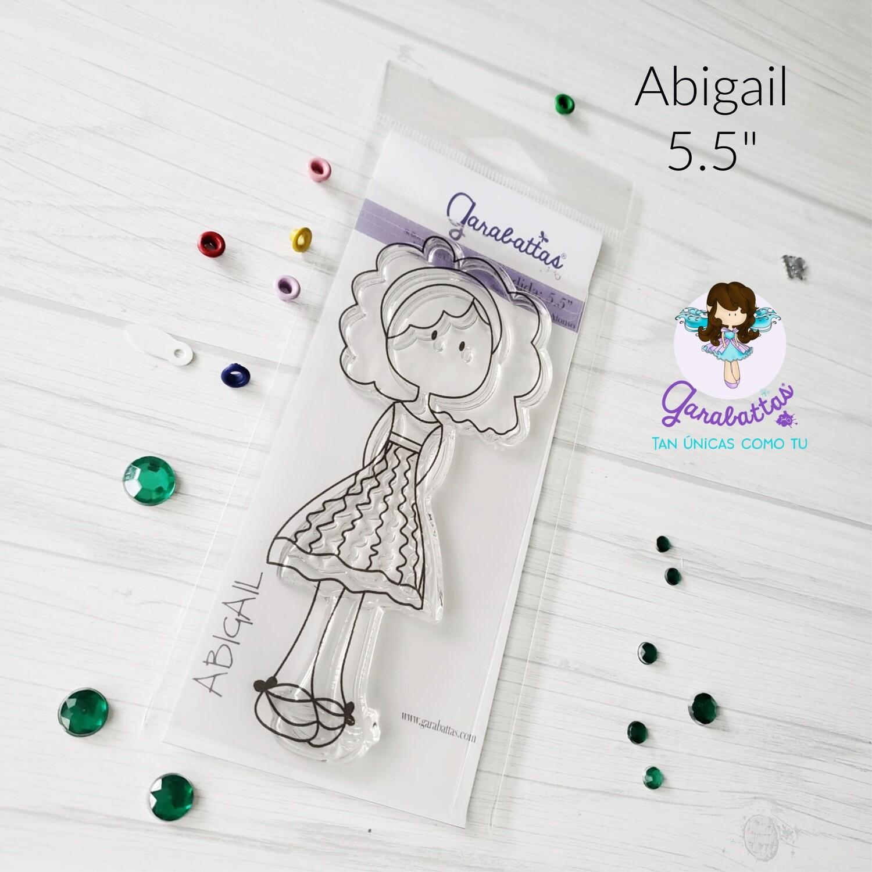 "5.5"" Stamp - Abigail"