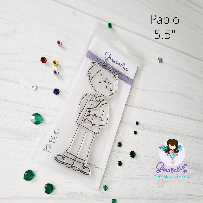 "5.5"" Stamp - Pablo"