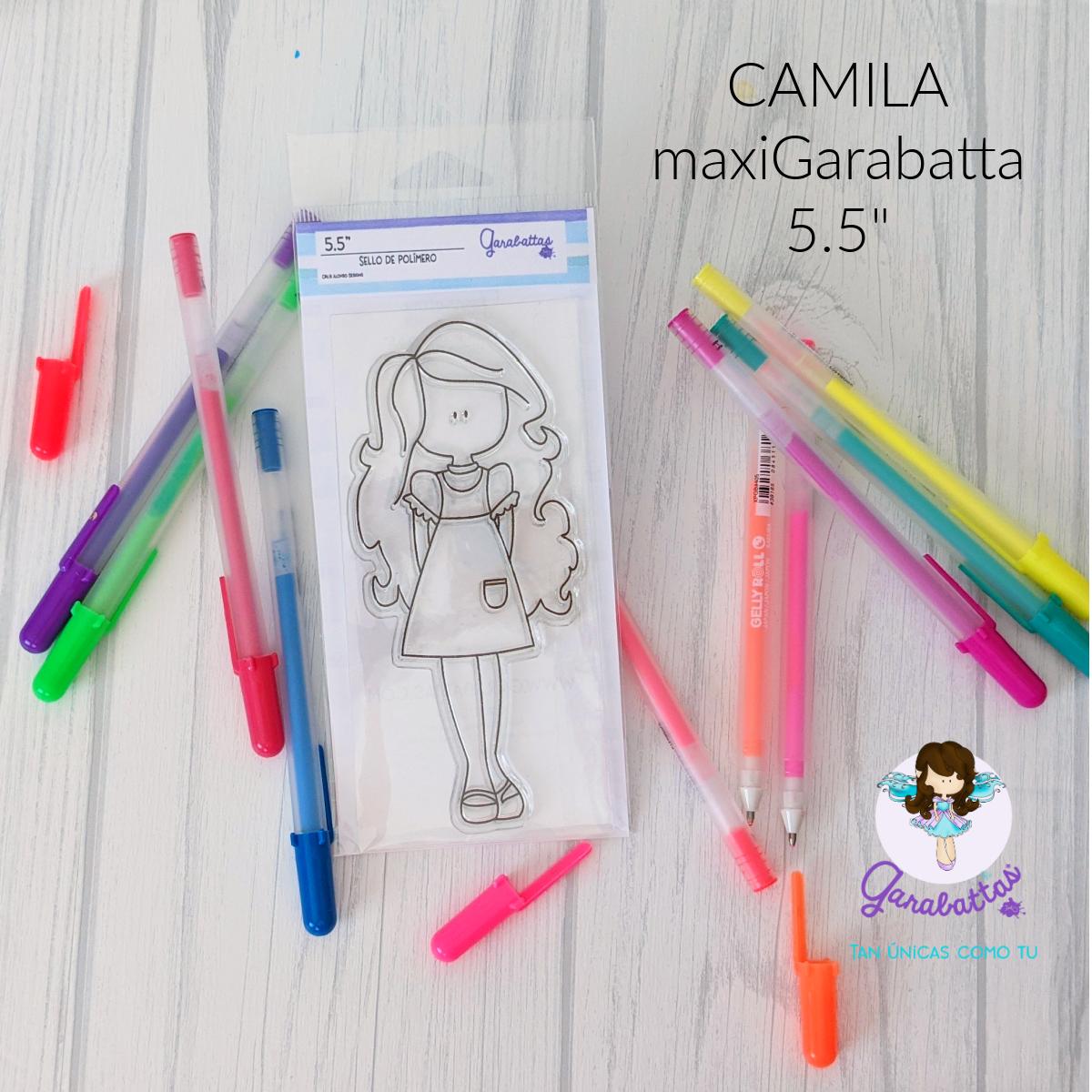 "5.5"" Stamp - Camila"